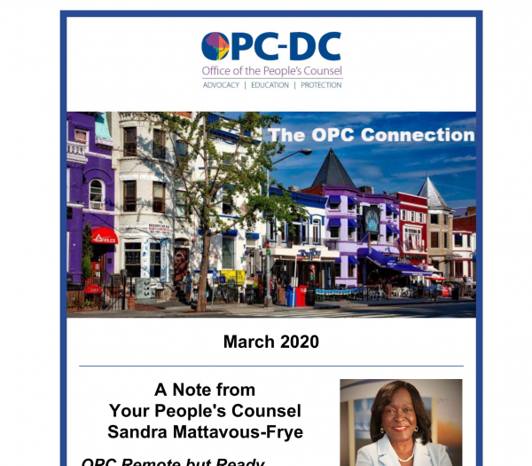 The OPC CONNECTION - March 2020