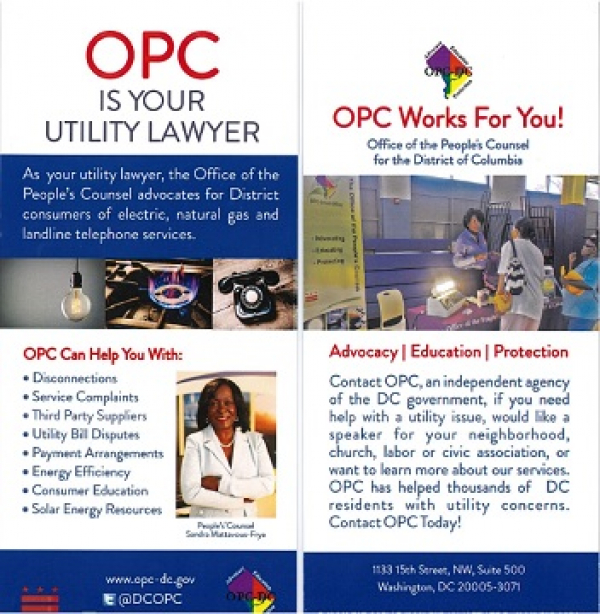 OPC is your Utility Lawyer